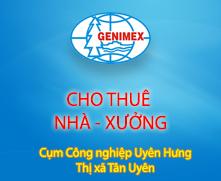 CHO THUÊ KHO XƯỞNG - Cụm CN Uyên Hưng