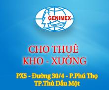 CHO THUÊ KHO - XƯỞNG - PX5