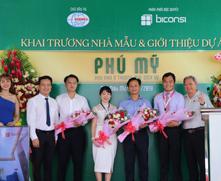 Khai trương nhà mẫu và giới thiệu dự án Khu nhà ở TMDV Phú Mỹ ngày 23/7/2019