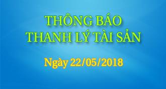 THÔNG BÁO THANH LÝ TÀI SẢN - Xe Ôtô